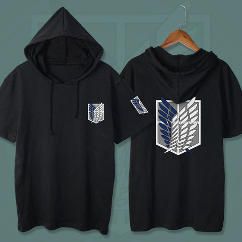 Anime Hooded T-Shirt KF9199