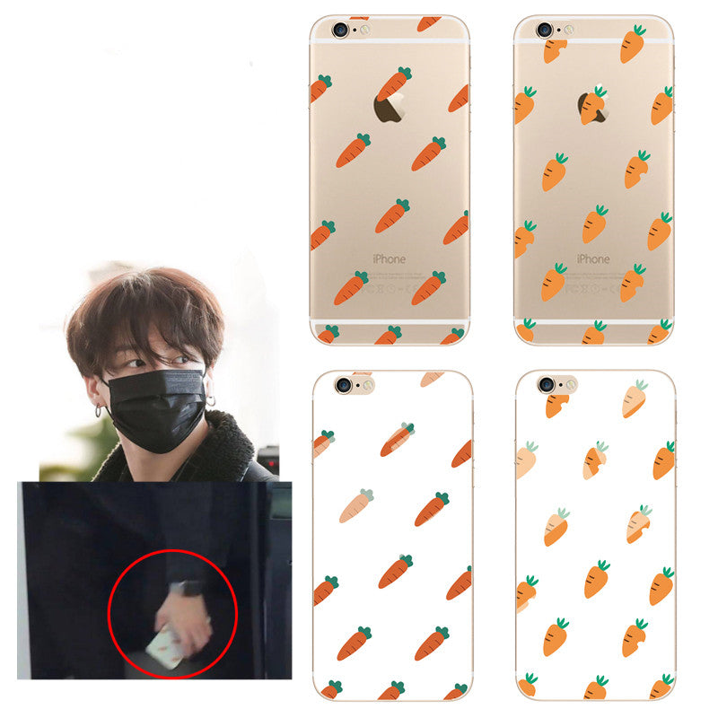 BTS carrot phone case KF9282