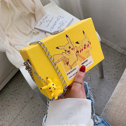 Pikachu cartoon bag KF81195
