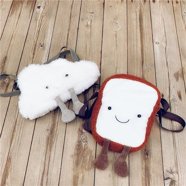 Cloud plush bag KF90757