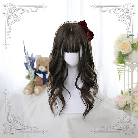 Long curly wig KF81199