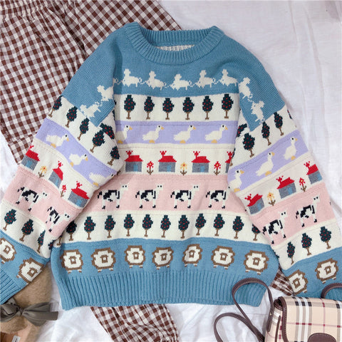 Chic Knit Sweater KF9502