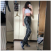 Ulzzang plaid pants KF90581