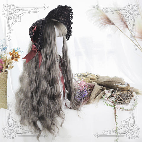 Psastel long roll wig KF90735