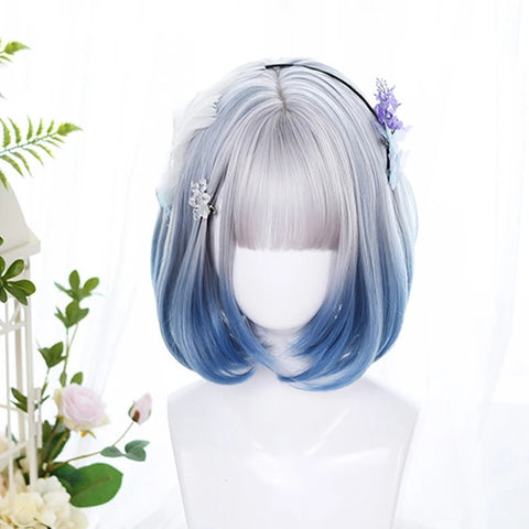 Gradient short wig KF81200