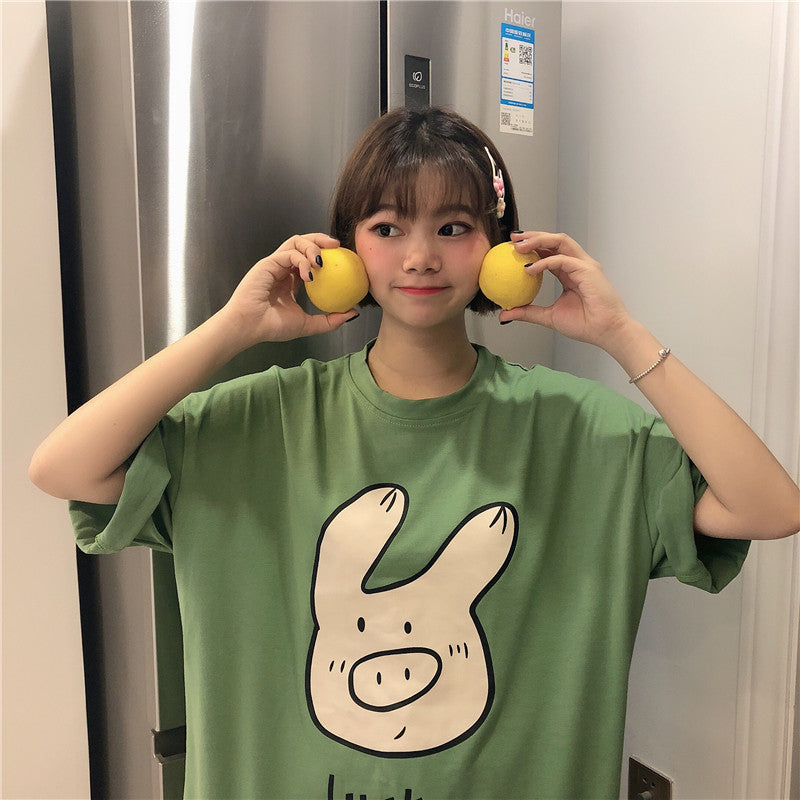 Ulzzang Cartoon T-shirt KF90648
