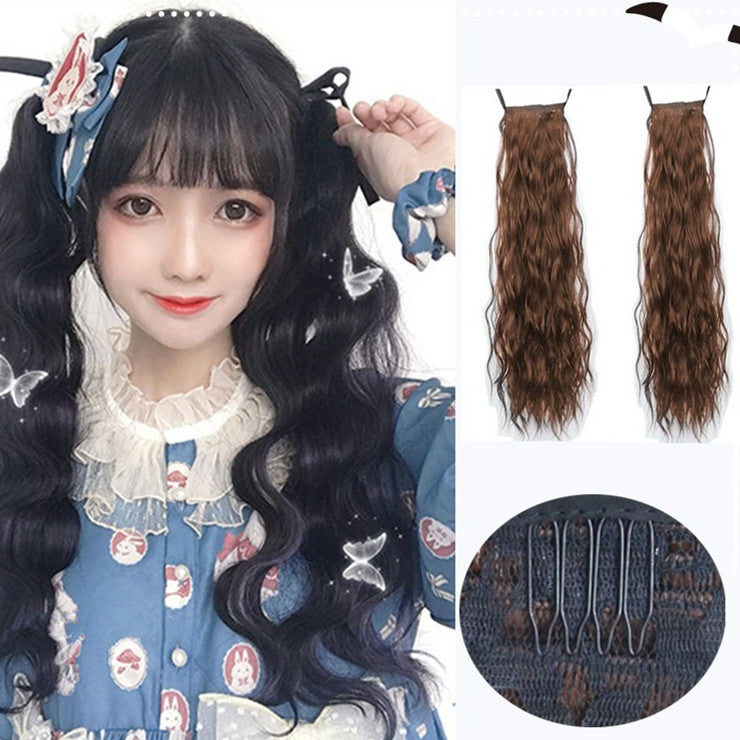 Double ponytail wig KF81783