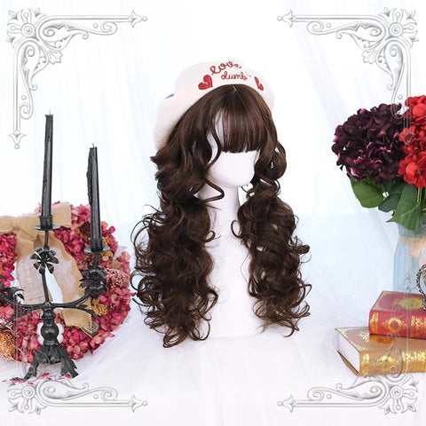 CUTE CURLY WIG  KF8217