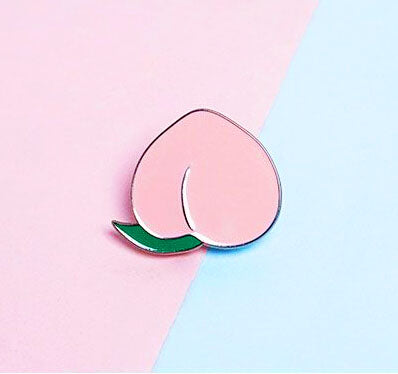 PEACH PIN  KF2233