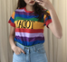 Today Rainbow T-shirt KF50079