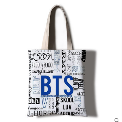 Bts Handbag Bag KF30277