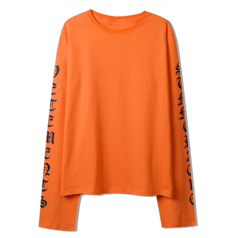 Hiphop long sleeve t-shirt KF30408