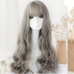 Long roll big wave wig KF80049