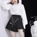 Ulzzang black plaid skirt KF90116