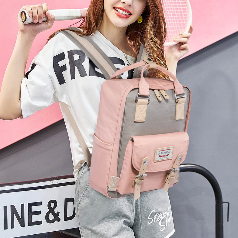 Harajuku canvas backpack KF908046