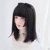 Harajuku long straight wig KF9264