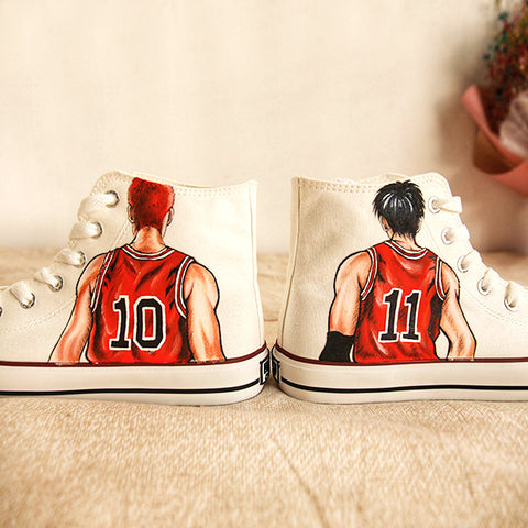 Slam Dunk Handmade Painting Shoes KF7012