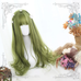 Green big wave wig KF90447