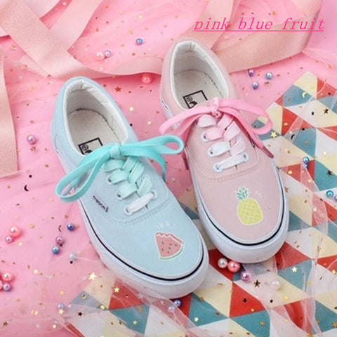 Fruit canvas shoes KF80029
