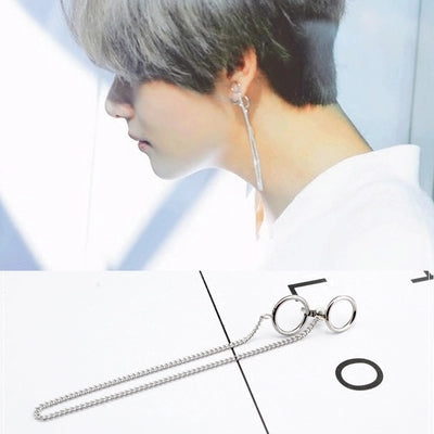 BTS  with the same earrings KF2285