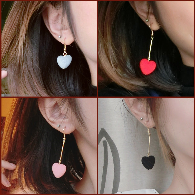 Love Velvet Ball Earrings KF30257