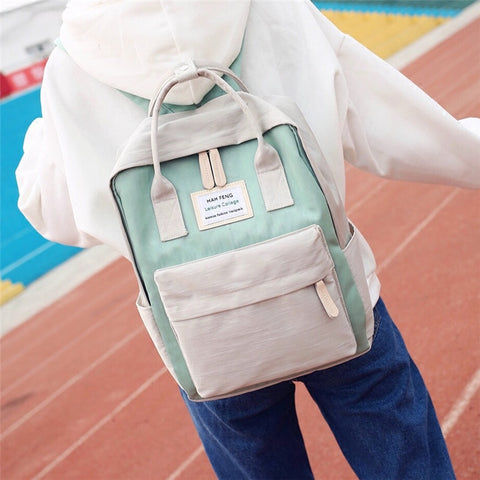 Harajuku waterproof backpack KF908037