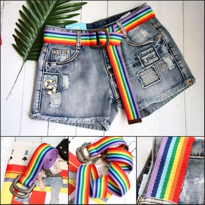 Rainbow candy belt KF2378