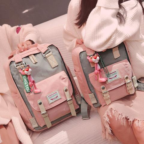 Unzzy Pink Panther Backpack KF10098
