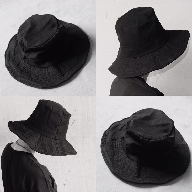 Unisex black hat KF90513