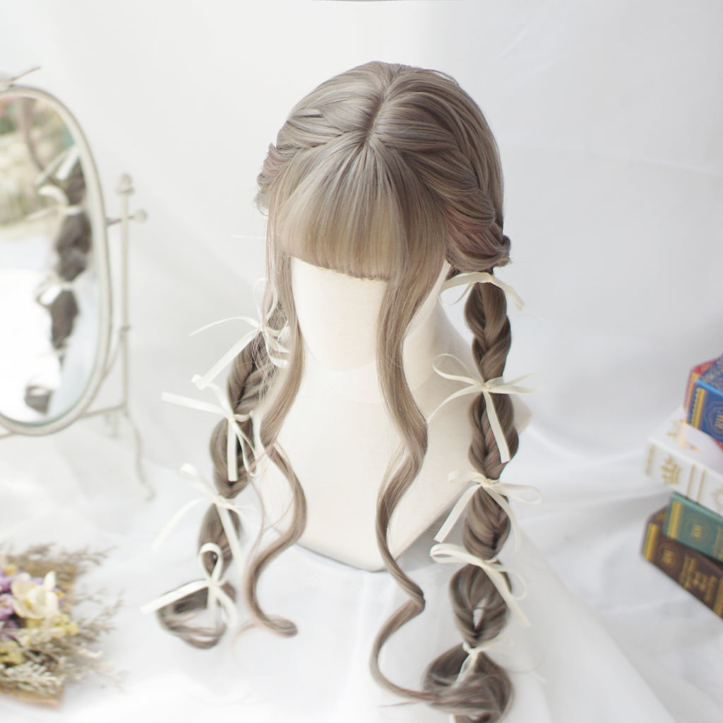 Long roll big wave wig KF90598