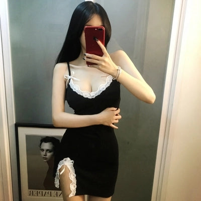 Sexy lacet Short skirts KF80045