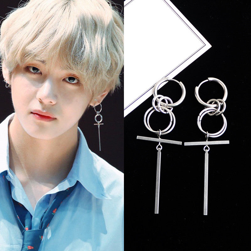 bts v personality earing kf30303 unzzy