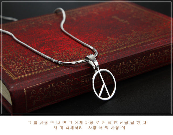 BIGBANG-GD Simple Necklace KF30345