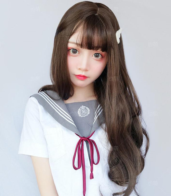 BIG WAVE LONG ROLL WIG KF40433
