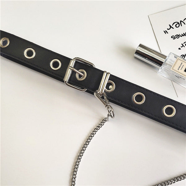 Punk chain belt KF90149