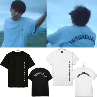 BTS Mood for Love SAVE ME Short Sleeve T-Shirt KF2278
