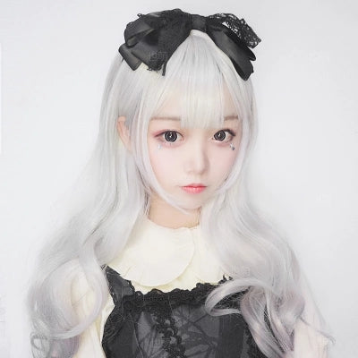 Gradient gray micro-volume wig KF80056