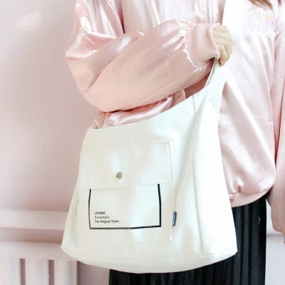 Korea Harajuku Casual Shoulder Crossbody Bag KF24015