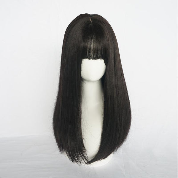 CUTE NATURAL GROOMING ROUND FACE WIG KF40427
