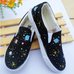 Harajuku Galaxy Hand-Painted Canvas Shoes KF10080
