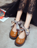 Vintage Harajuku shoes  KF2398