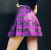 Ulzzang high waist pleated skirt  KF24105
