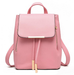 Leather Tassel Backpack KF30079