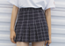 Plaid Tennis Skirt KF40049