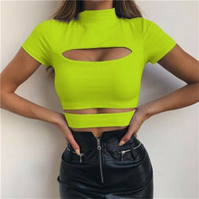 Load image into Gallery viewer, Sexy Hollow Crop Top
