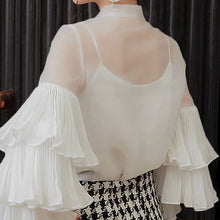 Load image into Gallery viewer, Celmia Ruffled Long Sleeve Blouse