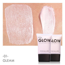 Load image into Gallery viewer, Gold Face Highlighter Liquid Glow Make up
