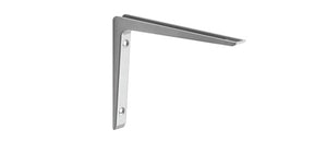 "PURIST Metal Shelf Bracket - 10"" - Silver"