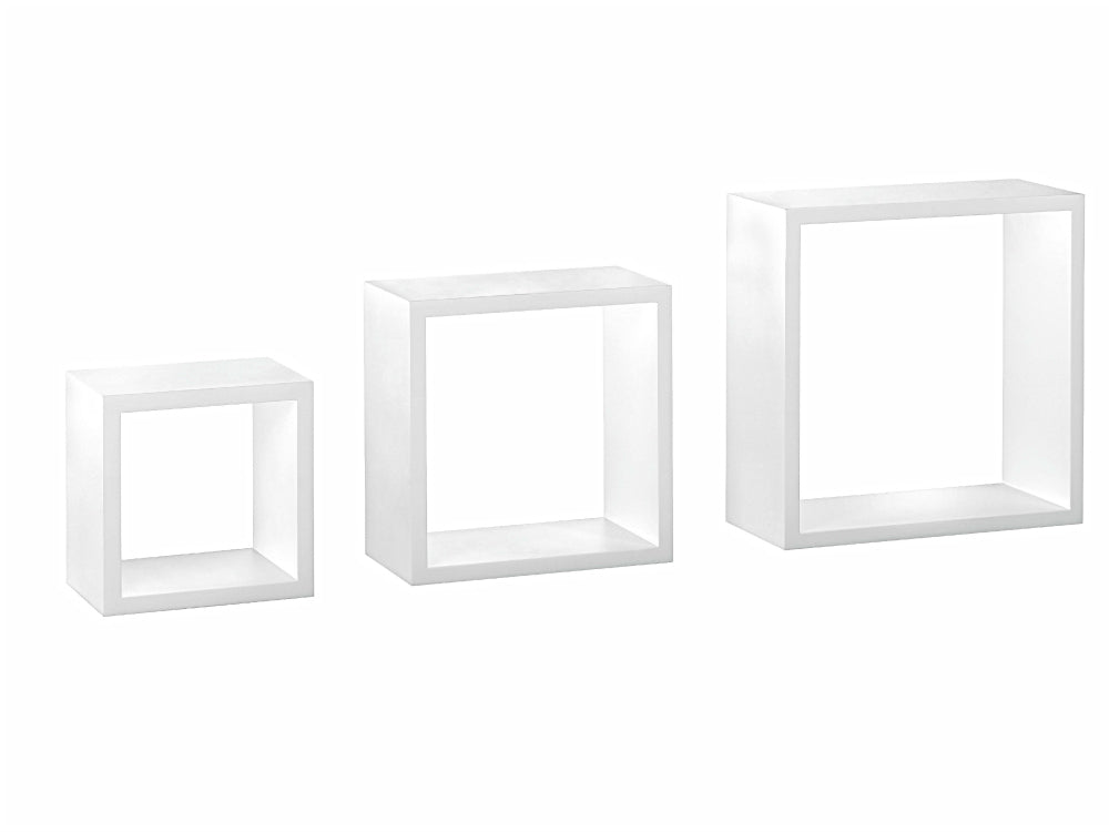 Dolle Floating Shelf Set of Box Frames - Set of 3 - Black
