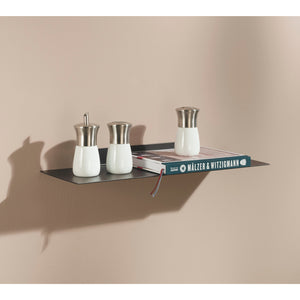 Dolle KATANA Metal Floating Shelf - Oil Rubbed Bronze - 24""